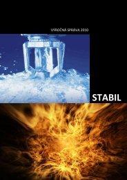 2010 Vyrocna sprava - STABIL, spol. s ro