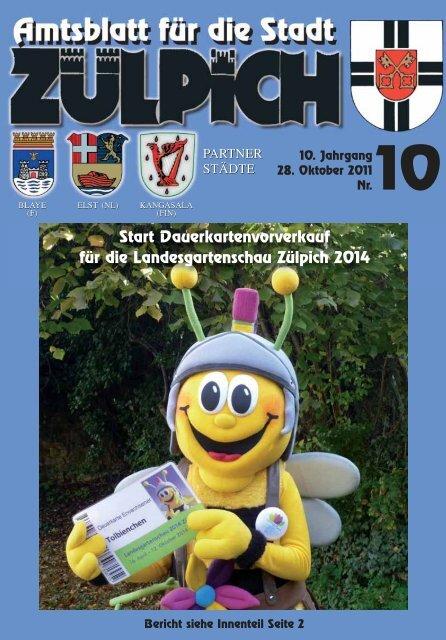 Amtsblatt1011.pdf - Stadt Zülpich