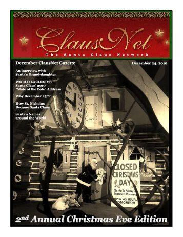 Christmas Eve 2010 Special Edition - Clausnet