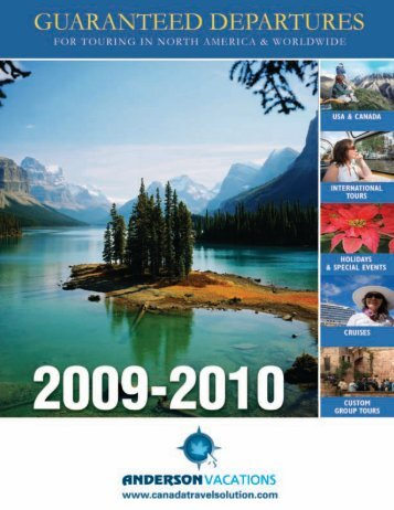Anderson TAP Brochure quark 8:Layout 1 6 - Anderson Vacations
