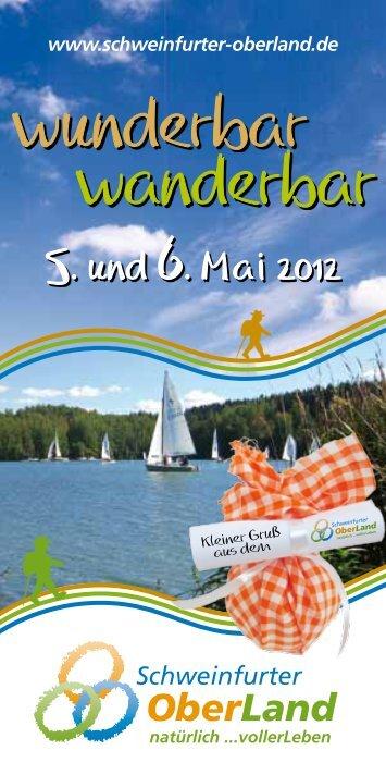 Mai 2012 - Schweinfurter OberLand
