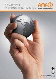 Katalog 2009 Weltdesmechanischen Spannens - Ehrlich Tools