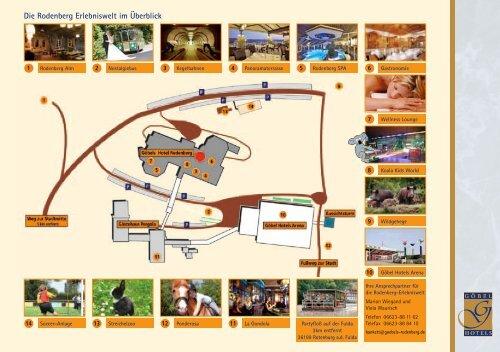 Lageplan Erlebniswelt Rodenberg Als Pdf Datei Gobel Hotels