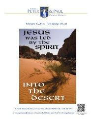 Fifth Sunday in Ordinary Time - E-churchbulletins.com
