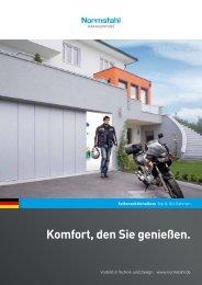 Katalog Seiten-Sectionaltore für Ihre Garage - Metallbau Göbel GmbH