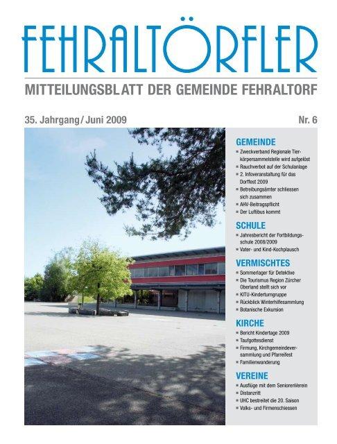 vermischtes - Gemeinde Fehraltorf