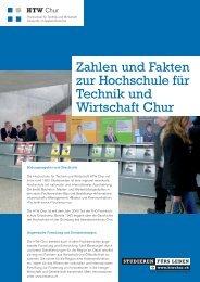 Fact Sheet HTW Chur (de)