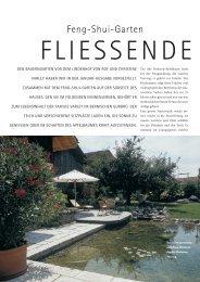 Gartenp orträt - Feng Shui Schule Schweiz