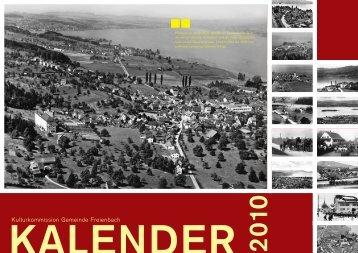 KALENDER 2 010 - Gemeinde Freienbach