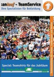 :anlauf - TeamService - Siegerländer AOK Firmenlauf
