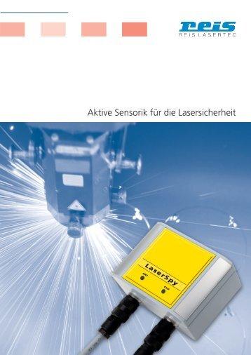 Aktive Sensorik für die Lasersicherheit - Reis Lasertec