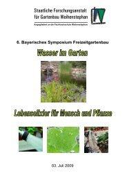 Staatliche Forschungsanstalt für Gartenbau Weihenstephan