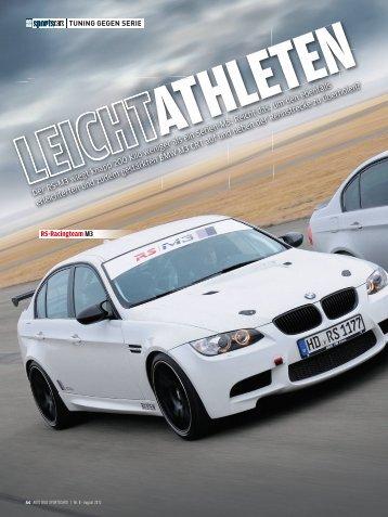 Tuning gegen Serie Autobild SportsCars - RS Raceline