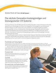 KODAK Point-of-Care CR 360 - Kratzer EDV GmbH