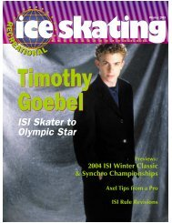 Timothy Goebel ISI Skater to Olympic Star - Ice Skating Institute