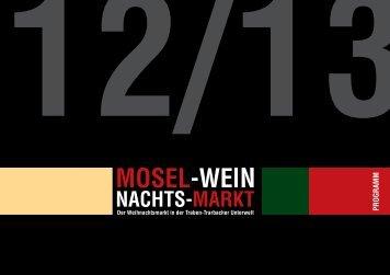 in Traben-Trarbach geht's (h)eis(s) - Mosel Wein Nachts Markt