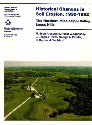 Historical Changes in Soil Erosion, 1930-1992 - Natural Resources ...