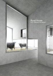 Rural House - Frei + Saarinen