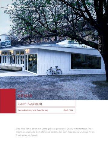 Kino Xenix, Zürich-Aussersihl