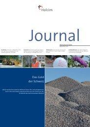 Journal Innerschweiz 2012 (PDF-Datei, 505 KB) - Holcim