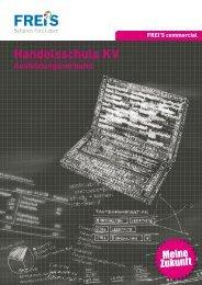 Handelsschule KV Ausbildungsverbund - FREI'S Schulen AG Luzern