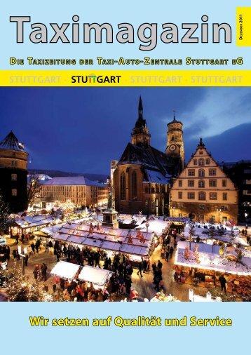 Wir setzen auf Qualität und Service - Taxi-Auto-Zentrale Stuttgart