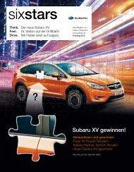 Das SUBARU SixStars Magazin Schauen Sie rein!
