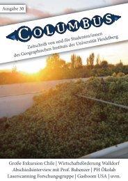 Ausgabe 30 - Geographisches Institut der Universität Heidelberg