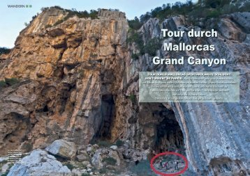 Tour durch Mallorcas Grand Canyon - Astrid Prinzessin zu Stolberg