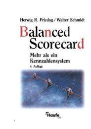 Führung mit Kennzahlen - Forum Balanced Scorecard