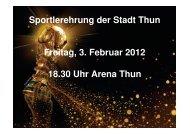 Präsentation Sportlerehrung_120110_final_GE - Thun