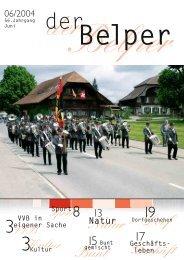 Kultur - Der Belper