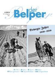 Mai 2010 - Der Belper