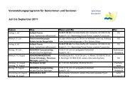 Veranstaltungsprogramm für Seniorinnen und Senioren Juli bis ...