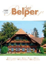 September 2009 - Der Belper
