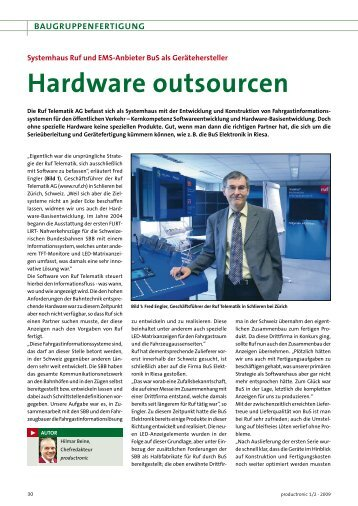 Hardware outsourcen - All-electronics.de
