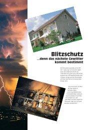 Download Informationsflyer Blitzschutz 2,5MB - Schreier AG