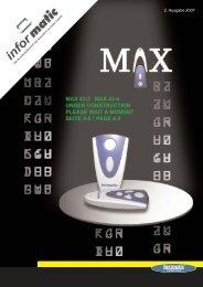 max 43-2 max 43-4 under construction please wait a ... - Tormatic