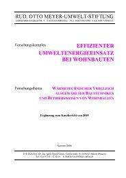 Bericht_Wohnbauten_Ergaenzung - Prof. Dr. Bernd Glück
