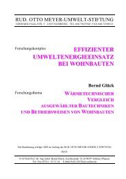 Bericht_Wohnbauten - Prof. Dr. Bernd Glück