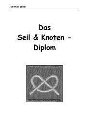 Das Seil & Knoten - Diplom - im CEVI Breite Schaffhausen