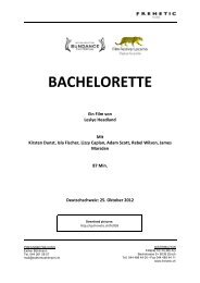 BACHELORETTE - Frenetic Films AG
