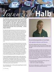 Traumziel Halbmarathon - Professional Endurance Team
