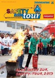 SAFETY-Tour Magazin 3/2012 - Sicherheits-Informations-Zentrum