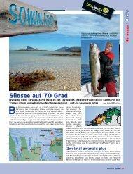 Südsee auf 70 Grad - Kingfisher Angelreisen