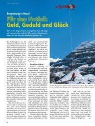 Geld, Geduld und Glück - Deutscher Alpenverein