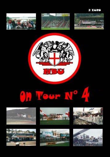 NBU on Tour N° 4 - Natural Born Ultras