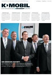 K>MOBIL 33 Ausgabe Juni 2009 (deutsch) - Kirchhoff Gruppe