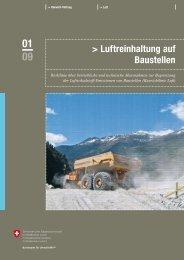 Luftreinhaltung auf Baustellen - BAFU - admin.ch