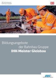 DBG Bildungsangebote - Deutsche Bahn AG